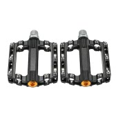 SCUDGOOD Mountain Bike Bicycle Pedals Bearing Pedals Aluminum Alloy MBT Mountain Bike Parts Super Strong Platform Cycling Pedals Outdoor Sports