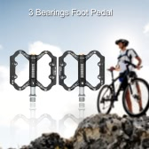 SCUDGOOD Mountain Bike Pedals Bicycle 3 Bearings Foot Pedal Wide MTB Pedals