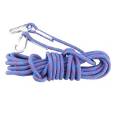 10m Long 12mm Wide Professional Mountaineering Outdoor Survival Paracord Carabiner