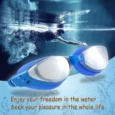 調節可能なユニセックス大人非曇りアンチ UV 水泳ゴーグル水泳メガネを電気メッキします。