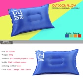 Outdoor Automatic Inflatable Bed Travel Air Pillow Cushion Pad for Camping Hiking Backpacking