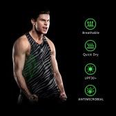 Quick-dry Men Bodybuilding Clothing Fitness Top Mens Sleeveless Shirt Sports Vest
