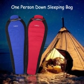 TOMSHOO Winter Down-filled Sleeping Bag Outdoor One Person Sleeping Bag Lightweight Compression Bag Camping Hiking