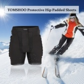 TOMSHOO Protective Padded Shorts Hip Butt Pad Impact Resistance Breathable Sportswear for Skiing Snowboarding Skating
