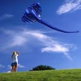 380*200cm Giant 3D Elephant Kite Soft Frameless Kite Single Line Kite Children Adults