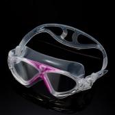 調節可能なユニセックス大人非くもり対策 UV 大きい水泳ゴーグル泳ぐメガネ