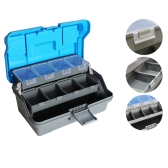 32*16*15cm 3 Layer Big Fishing Lure Tackle Box Handle Plastic Fishing Tool Case