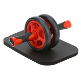 No Noise Abdominal Wheel Ab Roller with Mat for Exercise Fitness Equipment