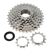 MTB Mountain Bike Bicycle 8S Cassette Flywheel 8 Speeds Flywheel 11-32T Teeth Crankset Cycling Part
