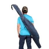 1.6m Fishing Rod Bag Lure Fishing Pole Bag Canvas Bag Shoulder Bag Sea Fishing Tackle Gear