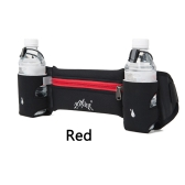Running Sports Waist Pack Unisex Lightweight Waist Pack with Dual Bottle Holder