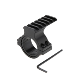 "Scope Barrel Mount 1"" / 25mm & 30mm Ring Adapter with 20mm Weaver Picatinny Rail"
