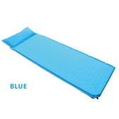 BlueField Outdoor Camping Thick Automatic Inflatable Mattress Self-Inflating Moistureproof Tent Mat Picnic Mat with Pillow