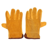 Working Protection Leather Safety Gloves (2PCS)