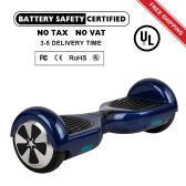 Dual Two 2 Wheels 6.5 inch Smart  Hoverboards Self Balancing Hoverboard Segway Board Cyboards Skywalkers Outdoor Electric Scooter Intelligent Sports Skateboard Balance with LED Light