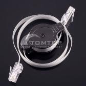 1.5M Retractable Ethernet LAN RJ45 Network Cable
