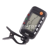 3 in 1 LCD Clip-on Digital Electronic Chromatic Acoustic Guitar Tuner