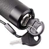 Focusable 50mW 532nm Green Laser Pointer Flashlight Torch with Key Lock