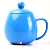 USB Powered Coffee Tea Beverage Cup Mug Warmer Heater Blue
