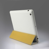 Smart Cover Protective Case Magnetic Stand for New iPad 4/3/2 Wake-up/Sleep White