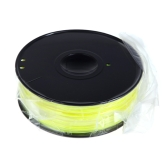 3D Printer Filament 1kg/2.2lb 1.75mm ABS Plastic for MakerBot RepRap Mendel Yellow