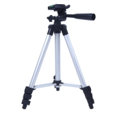 3110A Pro Camera Tripod Lightweight Flexible Portable Three-way Head for Sony Canon Nikon