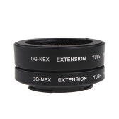 Macro AF Auto Focus Extension DG Tube 10mm 16mm Set Ring for Sony E-mout NEX NEX-6 A7R A3000