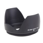 DC-SN HOOD 58mm Screw Mount Flower Crown Lens Hood Petal Shape for Canon Nikon Tamron Sigma Sony 58mm Lens