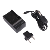Andoer Mini Compact 100-240V Charger with Car Charger EU Plug Converter for AHDBT-401 GoPro Hero 4 Sport Camera