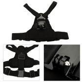 Andoer Adjustable Elastic Body Harness Chest Strap Mount Band Belt Accessory for Sport Camera GoPro Hero 4/3+/3/2/1 SJCAM