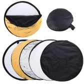 "32"" 80cm 5 in 1 Portable Photography Studio Multi Photo Disc Collapsible Light Reflector"