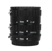 TTL Auto Focus AF Macro Extension Tube Ring Plastic for Canon EOS EF EF-S 60D 7D 5D II 550D