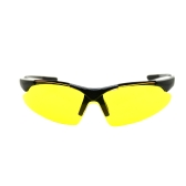 Cycling Sunglasses Safety Eyewear Goggle for Bicycle Riding Open-air Activities Universal Yellow