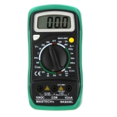 MASTECH MAS830L Pocket Size DMM Digital Multimeters LCD BackLight Data Hold DC Current Resistance AC/DC Volotage
