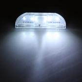 4 LED Auto PIR Keyhole Motion Sensor Detector Light Lamp