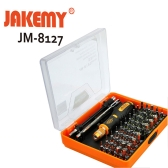 Jakemy JM-8127 Interchangeable Magnetic 54 in 1 Multipurpose Precision Screwdriver Set Repair Tools for Cellphone PC