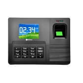 "Realand 2.8"" TFT LCD Display Biometric Fingerprint Attendance Machine ID Card Reader USB DC12V/1A Time Clock Recorder Employee Checking-in A-C030"