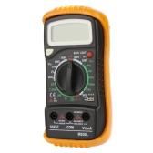 M830L Portable Digital Multimeter DMM Ammeter Voltmeter Ohmmeter & hFE Tester w/ LCD Bcaklight
