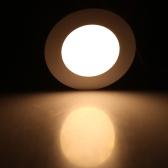 4W 円形 LED 埋め込み式 天井照明器具 パネルライト ダウンライト 超薄型 家庭の照明 AC85-265V