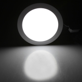 18W Round LED Recessed Ceiling Panel Light Down Lamp Ultra Thin Bright for Living Room Bathroom Bedroom Kitchen AC85-265V