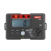 UNI-T UT502 Insulation Resistance Testers Megohmmeter Voltmeter DVM 2500V 20GΩ W/ LCD Backlight
