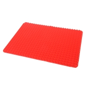 "Non-Stick Silicone Pyramid Pan Baking Sheet Pastry Cooking Mat Oven Liner Tray 16"" * 11.5"""