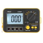 Vici VICHY VC60B+ Insulation Resistance Tester Megohmmeter Ohmmeter Voltmeter DVM 1000V 2GΩ w/ LCD Backlight