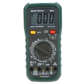 MASTECH MY64 Digital Multimeter DMM Frequency Capacitance Temperature Meter Tester w/ hFE Test