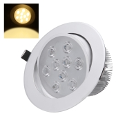 9*1W LED Recessed Ceiling Down Light Lamp Spotlight Indoor for Home Living Room Decoration Lighting with Driver AC85-265V