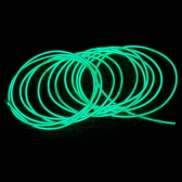 3M Green Flexible Neon Light EL Wire Rope Tube with Controller