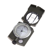 Portable Military Army Geology Lensatic Compass Prismatic Compass Multifunctional Outdoor Camping Exploration Tool with Fluorescent Light