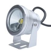 10W 12V LED Underwater Light Flood Lamp Waterproof IP65 Fountain Pond Landscape Lighting 1000LM White Flat Lens