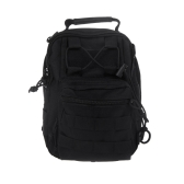 Men Women Outdoor Sport Camping Hiking Trekking Bag Military Tactical Shoulder Bag Black