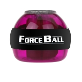 Gyroscope LED Wrist Power Force Ball Grip Ball Arm Muscle Exercise Strengthener Speed Meter Purple